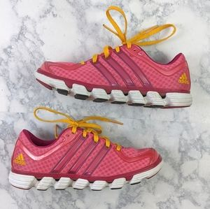 Addidas Pink Running Sneakers Size 6